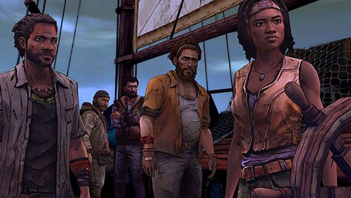 Screenshot The Walking Dead: Michonne auf dem iPhone