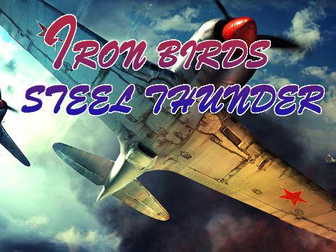 logo Pájaros de hierro: Trueno de acero