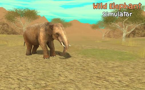 Wild elephant simulator 3D capture d'écran 1