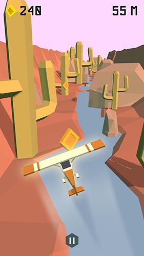 Arcade-Spiele Low fly für das Smartphone