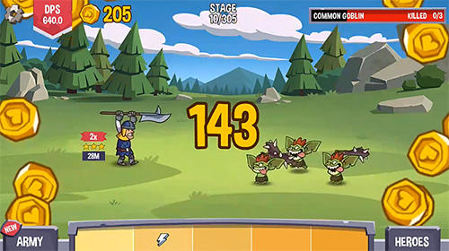 Slider heroes: Idle adventure para Android