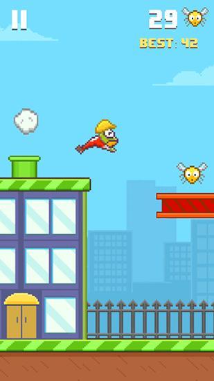 Arcade-Spiele Hoppy frog 2: City escape für das Smartphone