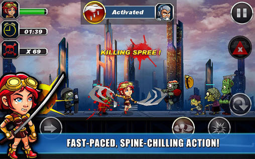 Zombie busters squad screenshot 2