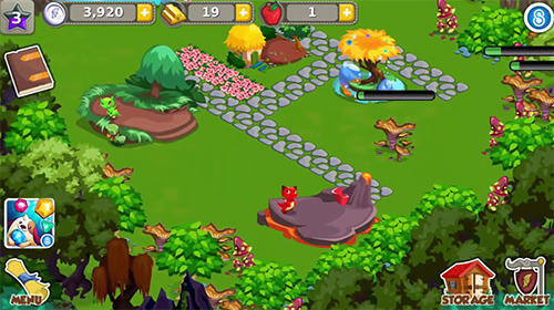 Dragon story: Holidays für Android