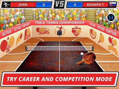 シミュレーション: 電話に テーブル・テニス3D: バーチャル・チャンピオンシップをダウンロード