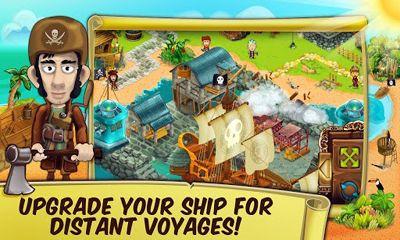 Wirtschafts-Strategie Pirate Explorer The Bay Town auf Deutsch