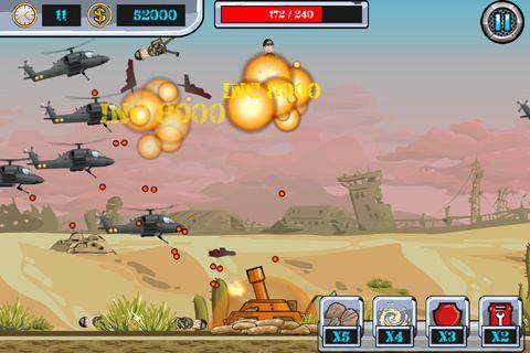 Screenshot HeliInvasion 2 auf dem iPhone