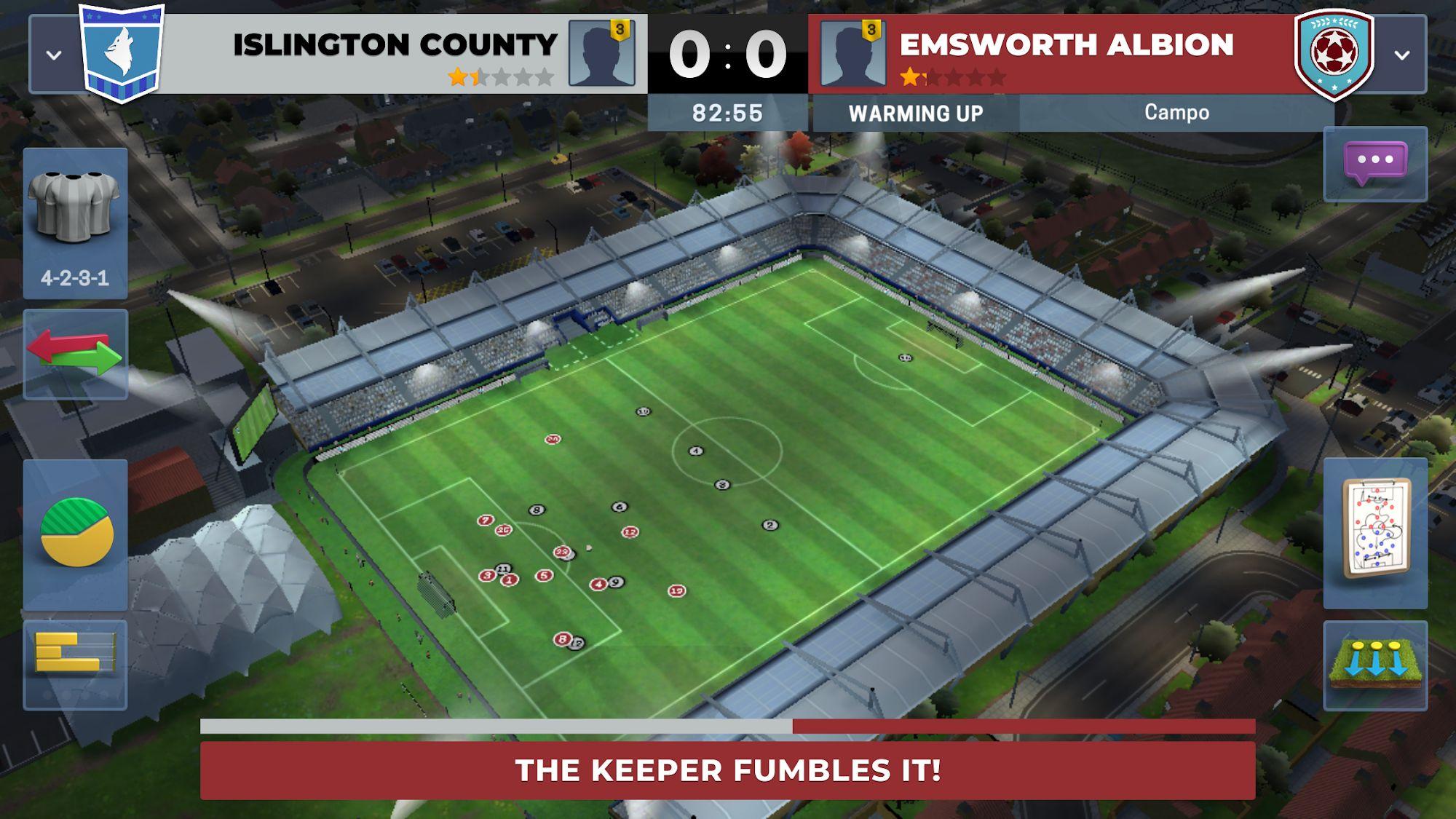 Matchday Manager: Football captura de pantalla 1