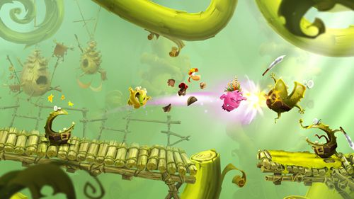 Arcade games: download Rayman adventures to your phone