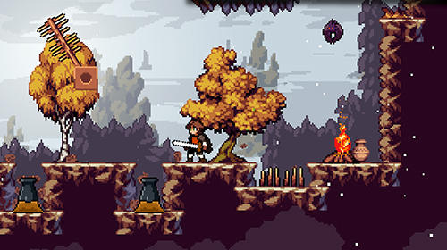 Apple knight: Action platformer for Android