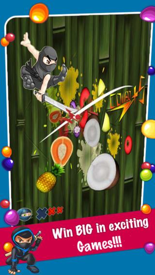 Атака фруктового ниндзя для Айфон