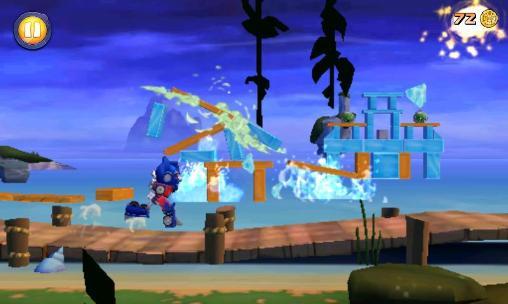 Angry birds: Transformers screenshots