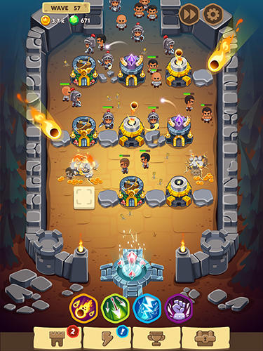 Spell heroes: Tower defense para Android