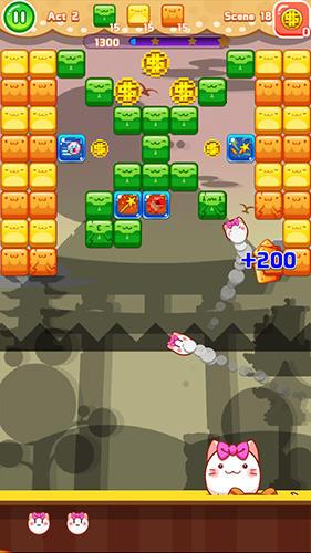 Arcade-Spiele Kitty theater: Lost colors für das Smartphone