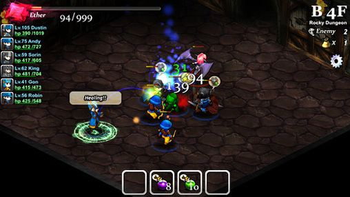 RPG: download Mystery of fortune: Deep dark dungeon to your phone