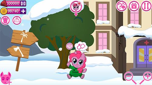 Arcade-Spiele My little pony: Hospital für das Smartphone