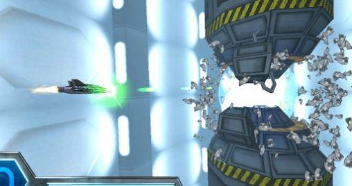 Flugspiele Razor Run: 3D space shooter auf Deutsch