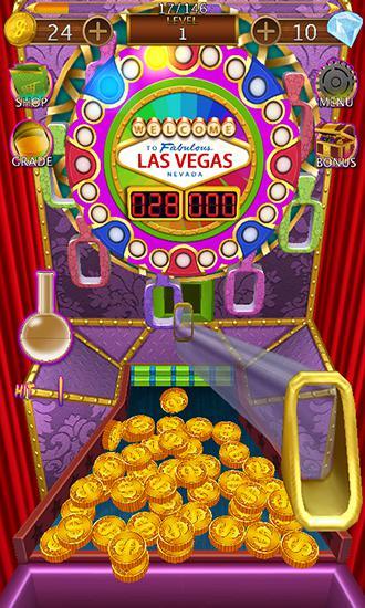 Coin dozer: Las Vegas trip für Android