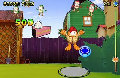 Screenshot Garfield verrückt nach Vögeln auf dem iPhone