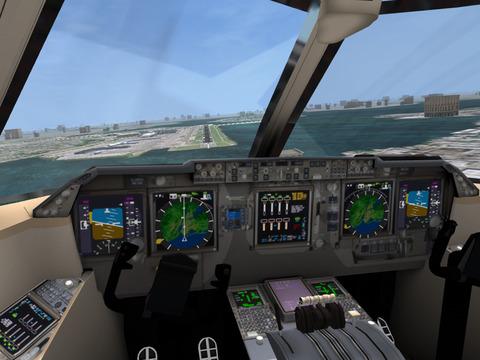 Screenshot Flugsimulator Online 2014 auf dem iPhone