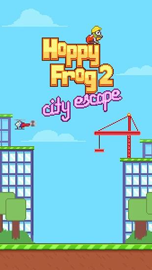 Hoppy frog 2: City escape Screenshot