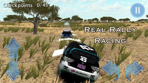 Rennspiele Rally race 3D: Africa 4x4 für das Smartphone