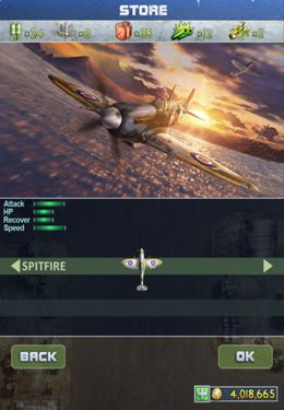 Arcade: download iFighter 2: The Pacific 1942 by EpicForce to your phone