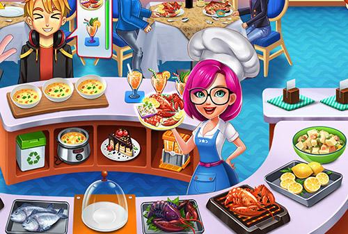 Kulinarischen Spiele Cooking star chef: Order up! auf Deutsch