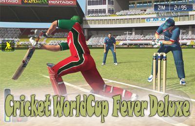 logo Cricket-Weltmeisterschaftsfieber Deluxe
