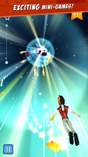 Star chasers: Rooftop runners Screenshot