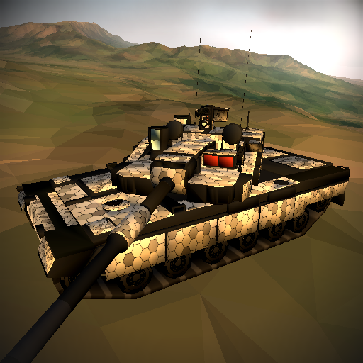 Poly Tank 2: Battle Sandbox іконка