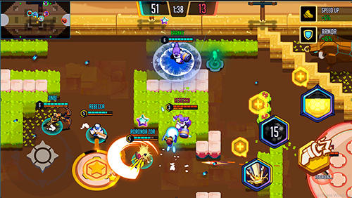 Heroes' strike: The first 4vs4 moba realtime screenshot 1