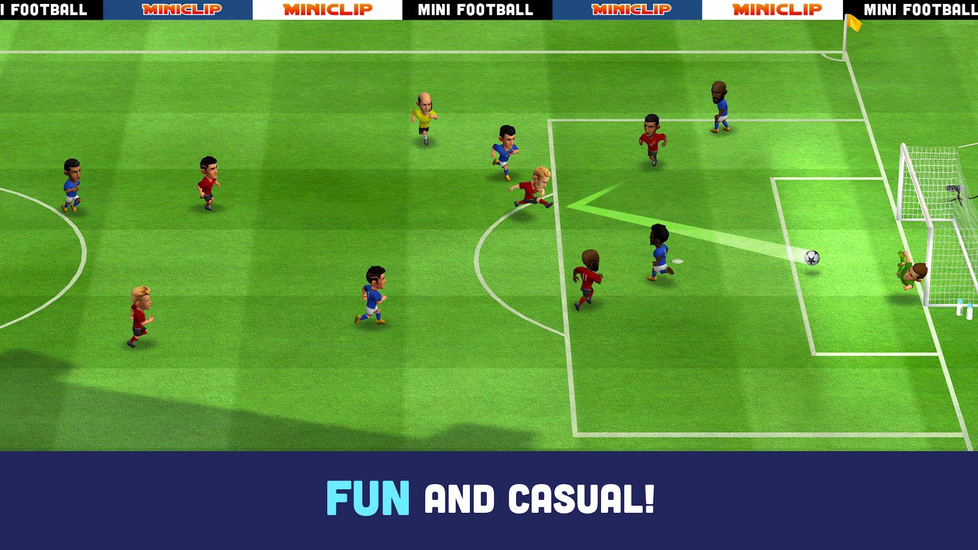 Mini Football capture d'écran 1
