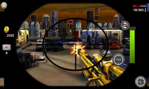 Sniper shooting. Killer. Screenshot