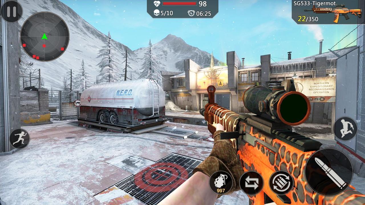 Encounter Strike:Real Commando Secret Mission 2020 скріншот 1