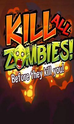 Kill all zombies! icono