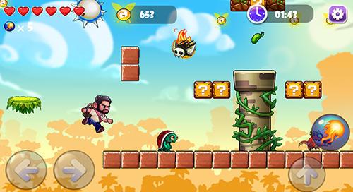 Arcade Jumping boy world für das Smartphone