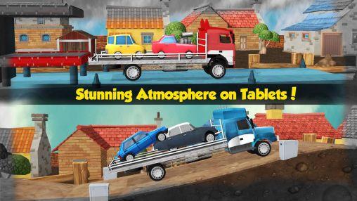 Arcade Car transporter 3D für das Smartphone