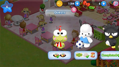 Arcade Hello Kitty: Food town für das Smartphone