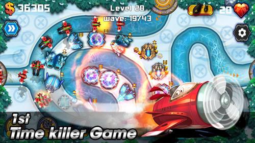 Tower defense: Battlefield auf Deutsch