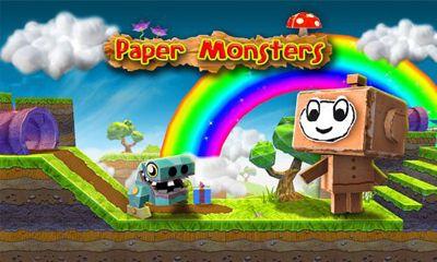 Paper Monsters screenshot 1