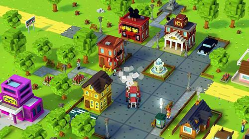 Farmspiele Blocky farm auf Deutsch