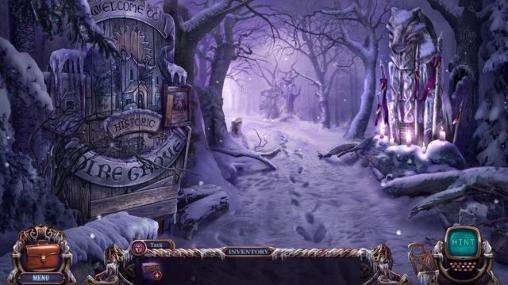 Abenteuer-Spiele Mystery castle files: Dire grove, sacred grove. Collector's edition für das Smartphone