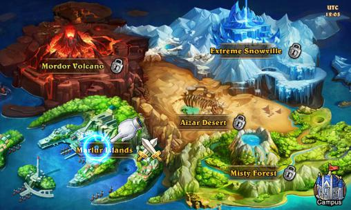 Magic legion: Mists of orcs Screenshot