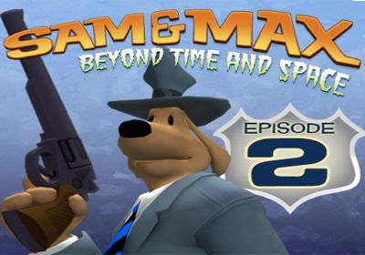 logo Sam & Max Beyond Time and Space Episode 2.  Moai Better Blues