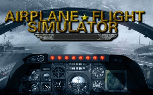 3D Airplane flight simulator Screenshot