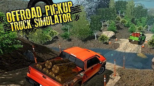 Off-road pickup truck simulator Screenshot