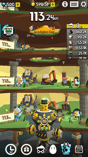 Ground driller для Android