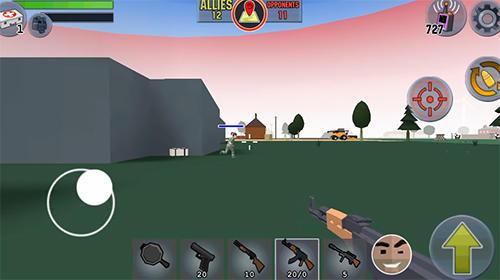 Battle royale FPS survival screenshot 1