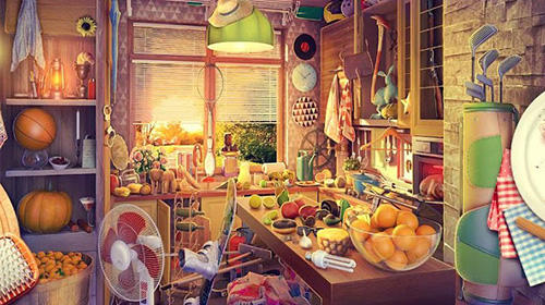 Hidden objects. Messy kitchen 2: Cleaning game for Android